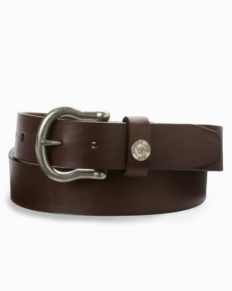 Southern Tide Classic Leather Belt