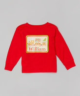 Swag Red Cookie Train Personalized Tee - Toddler & Boys