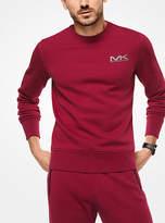 Michael Kors Logo Cotton-Blend Pullover