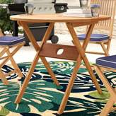 Beachcrest Home Elsmere Solid Wood Bistro Table