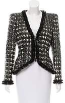 Alexander McQueen Houndstooth Structured Jacket w/ Tags
