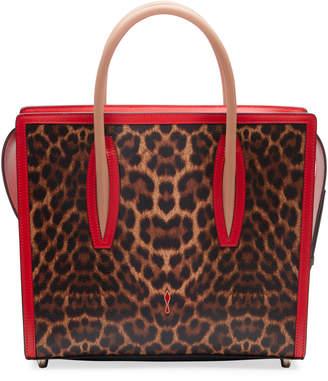 Christian Louboutin Paloma Medium Empire Leopard Tote Bag