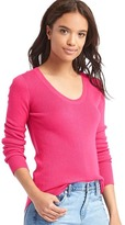 Gap Ribbed scoop pullover