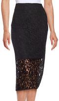 T Tahari Carolina Floral Pencil Skirt