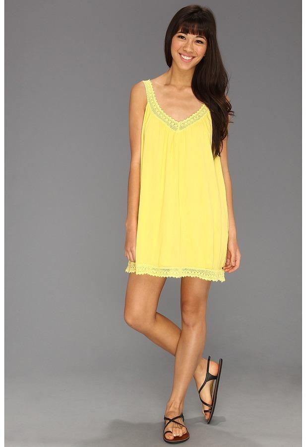 O'Neill Firefly Dress (Banana) - Apparel