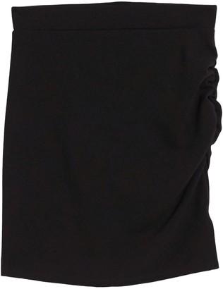 Socialite Ruched Side Mini Skirt