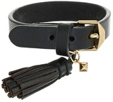 Rebecca Minkoff Single Row Leather Bracelet with Tassel