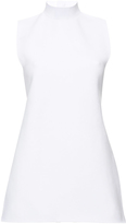 Marni Lilly White Open Back Turtleneck Knit