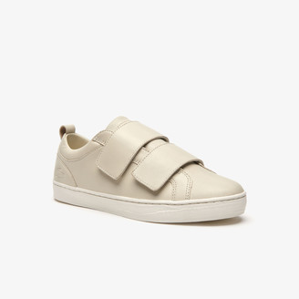 Lacoste Women's Straightset Strap Leather Sneakers