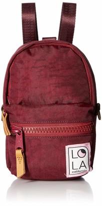 LOLA Cosmetics Stargazer Mini Convertible Backpack