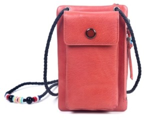 Old Trend Rillet Leather Crossbody Bag