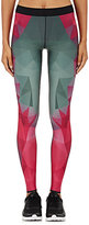 Ultracor Women's Fractal-Print Leggings-PINK