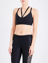 Ultracor Rhombus stretch-jersey sports bra