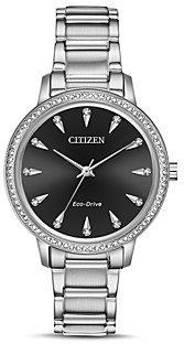 Citizen Silhouette Eco-Drive Crystal Watch, 36mm