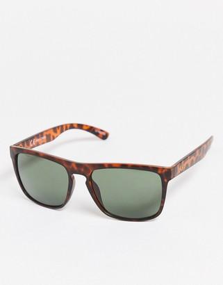 Jack and Jones square sunglasses in tortoiseshell