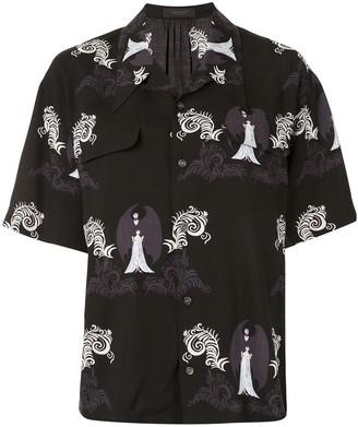 Undercover Graphic Print Short-Sleeve Shirt