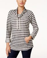 Style&Co. Style & Co. Striped Cowl-Neck Top, Only at Macy's