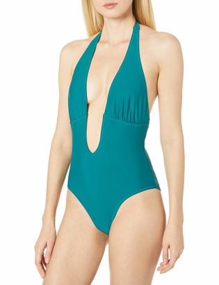 MinkPink Women's Oceans Plunge One Piece Swimsuit
