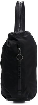 Off-White drawstring fastening shoulder bag