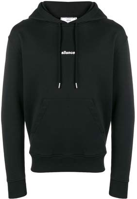 Ami Paris Hoodie With Silence Embroidery
