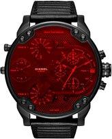 Diesel Mr. Daddy 2.0 Multifunction Leather-Strap Watch