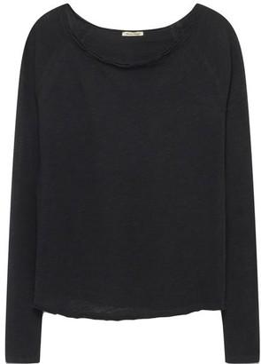 American Vintage Sonoma Long Sleeve Black T Shirt - Small
