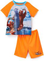 Komar Kids 4-D Bear Sleep Tee & Shorts - Toddler & Boys