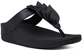 FitFlop Women's Fino Leaf Thong Sandals