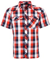 Berghaus Explorer Eco Shirt Volcano Red/navy Check