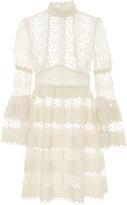 Anna Sui Trellis Lace Dress