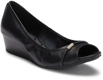 Cole Haan Emory Leather Wedge Pump