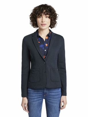 Tom Tailor Women's Jersey Ottoman Blazer