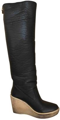 Stella McCartney Stella Mc Cartney Black Faux fur Boots