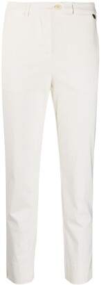 Twin-Set Cropped Slim-Fit Trousers