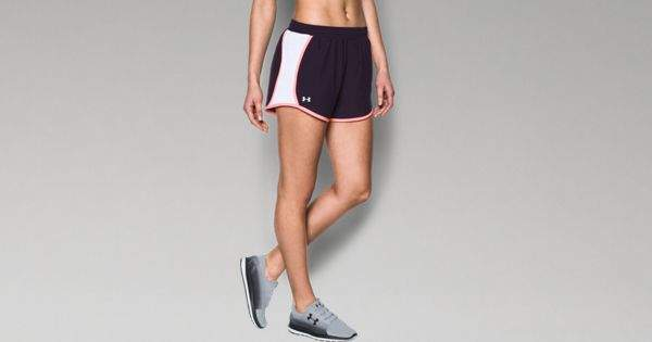 Under Armour Women's UA Fly-By Perforated Shorts