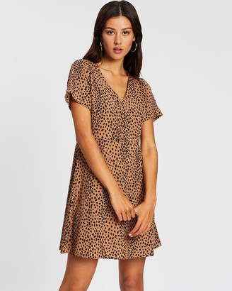All About Eve Be Wild Mini Dress