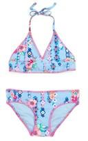 Gossip Girl Girl's Flower Two-Piece Swimsuit