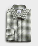 Hamilton Made in the USA + Todd Snyder Gingham Plaid Shirt Green