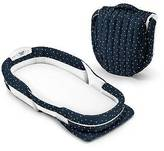Baby Delight Snuggle Nest Surround XL - Navy Dots