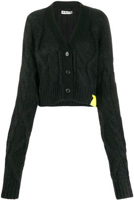 Aalto cropped knit cardigan