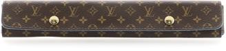 Louis Vuitton Necklace Jewelry Holder Monogram Canvas