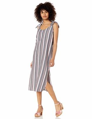 Obey Womens Baja Tie Dress Casual Dress