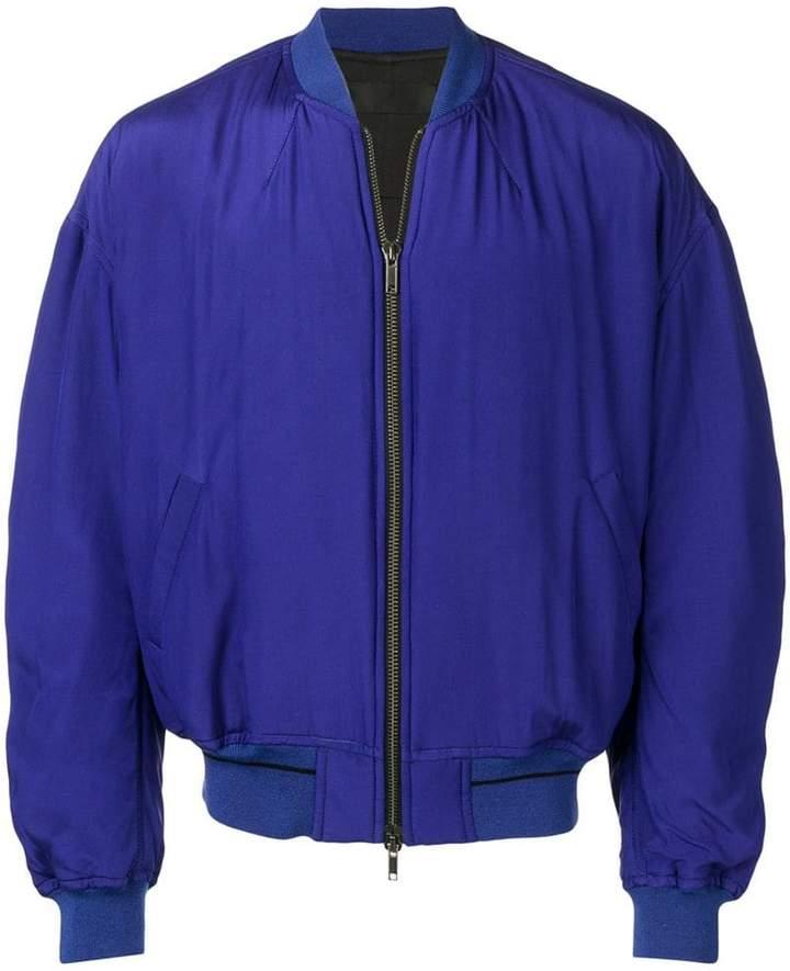Haider Ackermann silk bomber jacket