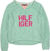 Tommy Hilfiger Knitted sweater with raglan sleeves