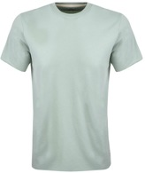 Edwin Crew Neck Terry T Shirt Green