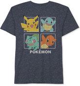 JEM Men's Pokémon Graphic-Print T-Shirt