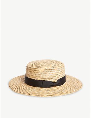 LACK OF COLOR Spencer straw hat