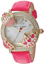 Betsey Johnson Tea Party Time Watch (Model: BJ0061402)