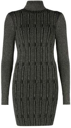 AllSaints Cable-Knit Rosa Dress