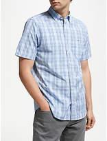GANT Regular Broadcloth Check Short Sleeved Shirt